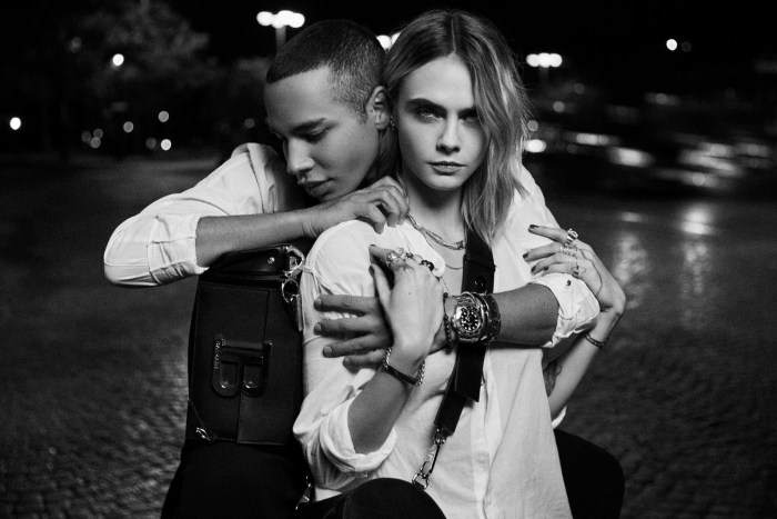 TRUE or DARE with Cara Delevingne and Olivier Rousteing - #BALMAINBCORD bag