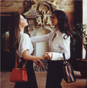 Catherine Zeta-Jones & Carys Douglas for Fendi - #MeAndMyPeekaboo