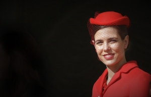 CHARLOTTE CASIRAGHI IN RED!