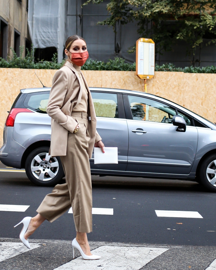 Olivia Palermo in Boss - #MFW2020