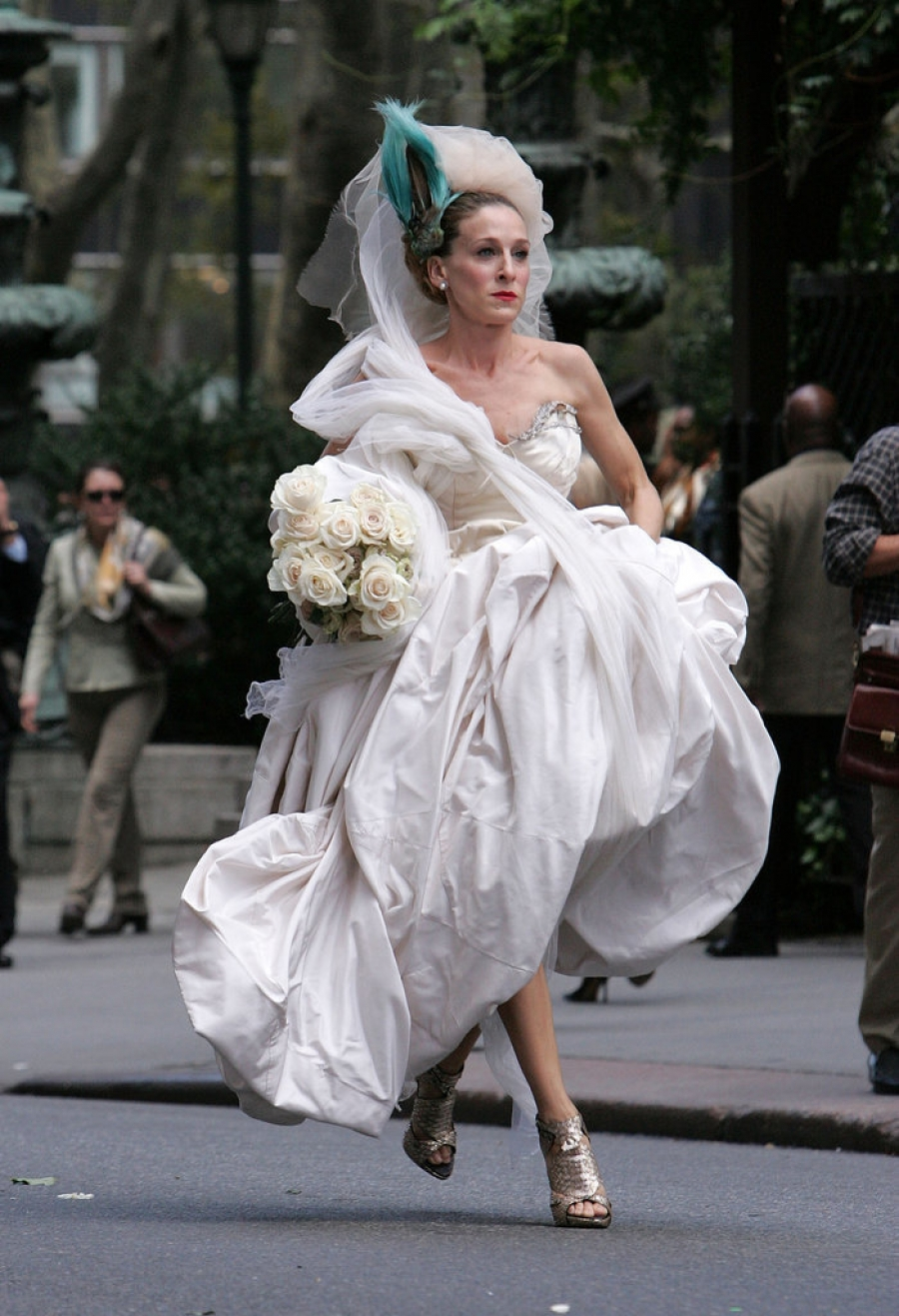 The Fashion Lover Sarah Jessica Parker Bridal Shoes Collection